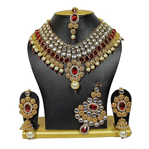 Shining Diva Party Wear Traditional Kundan Jewellery Set / Necklace Set for...