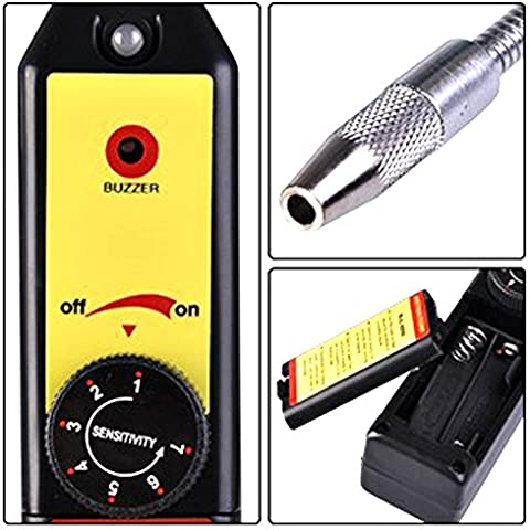 mondpalast@ Acondicionado freón refrigerante alarma Detector de fugas de gas halógeno CFC / HFC R134a