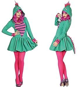 Atosa 26976 - damas dragón Sexy traje, tamaño 34/36, verde