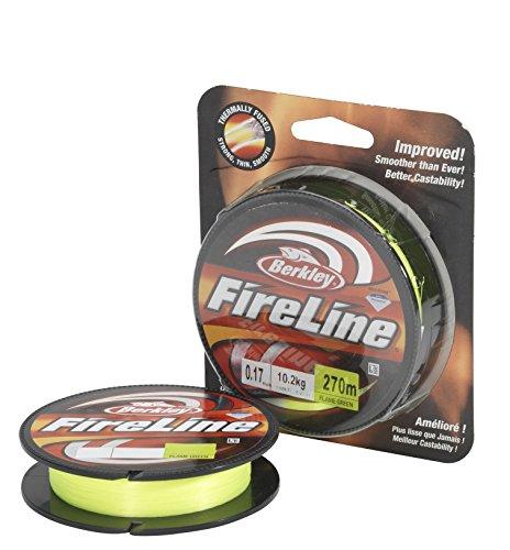 Berkley Fireline 270M 0.25MM FLAME-Grün