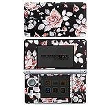 Nintendo 3 DS Folie Skin Sticker aus Vinyl-Folie Aufkleber Rosen Blumen Muster