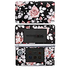 DeinDesign Skin kompatibel mit Nintendo 3 DS Folie Sticker Rose Blume Pattern