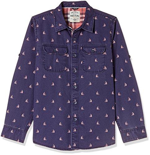 Allen Solly Junior Boys Plain Shirt (AKBSF318984_Violet_4)