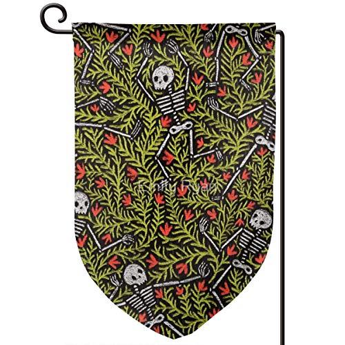 gge, Motiv Tanzende Skeletts, 31,8 x 45,7 cm, doppelseitig, Polyester ()