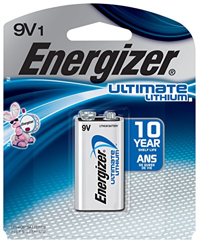 Energizer Ultimate Lithium 9V Battery (1 Count) - 9v Energizer