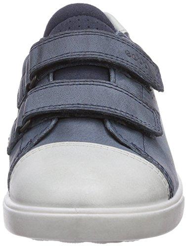 Ecco Shay Shadow White/Denim Blue Sam/Star Jungen Sneakers Blau (ShadowWhite/Denim Blue Sam/Star51088)