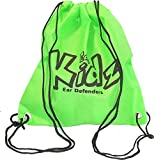 Ear Defenders For Kids EDZ Kidz – Mochila Ligero, verde