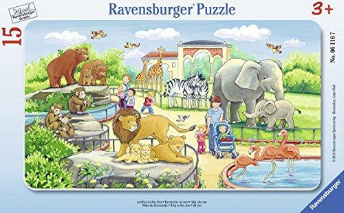 Ravensburger Puzzle 25 (Ravensburger 06116 - Ausflug in den Zoo)