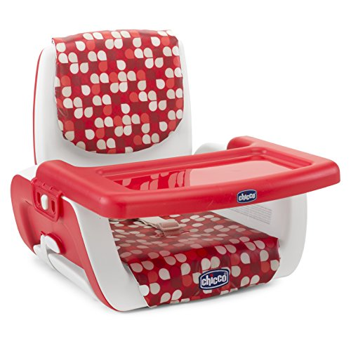 Chicco 07079036300000 rialzo sedia, rosso, mode scarlet