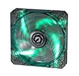BitFenix Spectre Pro LED Green 140mm - Ventilador de PC (0.25 A, 12 V, Verde, Transparente, 140 mm, 140 mm, 25 mm)