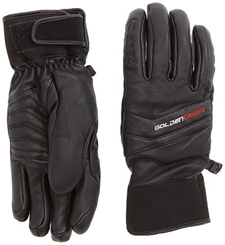 Reusch 4501179_700_9 - guanti da sci uomo, 9, colore: nero nero