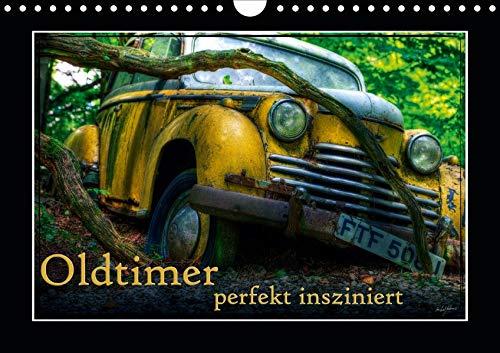 Oldtimer perfekt insziniert (Wandkalender 2020 DIN A4 quer): Bilder verschiedener, teils ausgedienter Oldtimer (Monatskalender, 14 Seiten ) (CALVENDO Mobilitaet) - Ford-lkw-bilder