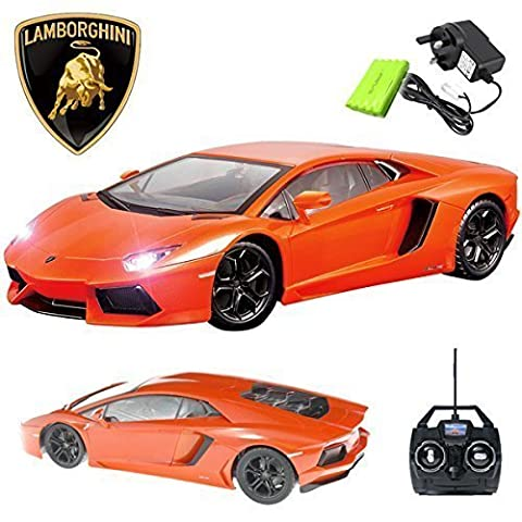 Official Licensed CM-2130 1:14 Lamborghini Aventador LP700-4 Radio Controlled RC Electric Car - Ready to Run EP RTR
