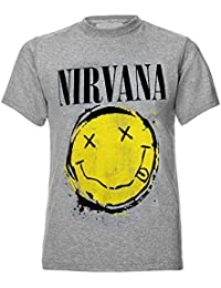 92cf8b67 Amazon.co.uk: Nirvana - Tops & Tees / Band T-Shirts & Music Fan ...