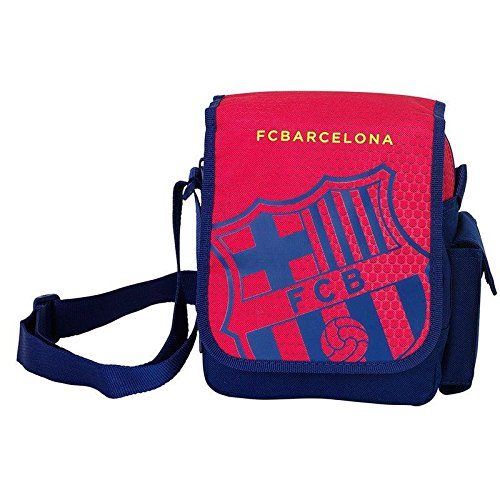 Sacoche Bandoulière Velcro Rouge Fc Barcelone Coupe d'europe