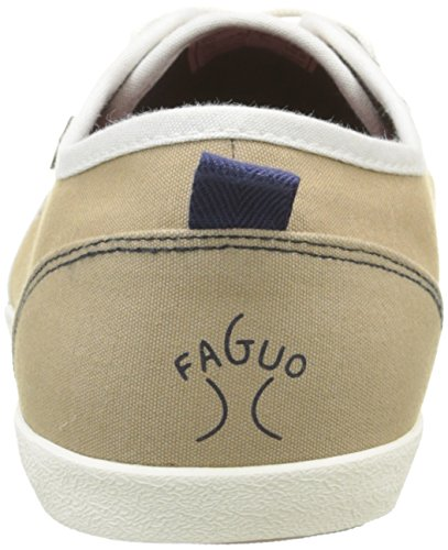 Faguo Sugi, Baskets Basses Homme Beige (S1670 Almond/Navy)