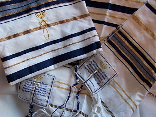Messianic Seal Prayter shawl - Talit / Talis ( 72 x 22 inches ) - Tallit by Holylandmarket