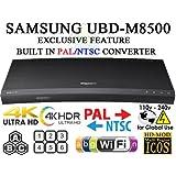 Samsung UBD-M8500 [ Region Free / Multi Zone] 4K Ultra HD Blu-Ray Player With Wi-Fi - UHD Multi Region Wi-Fi 110-220 Volts
