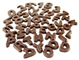Schokoladen- Buchstaben und Zahlen