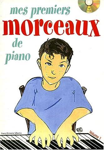 Minvielle Sebastia Pierre Mes Premiers Morceaux De Piano Bk/Cd