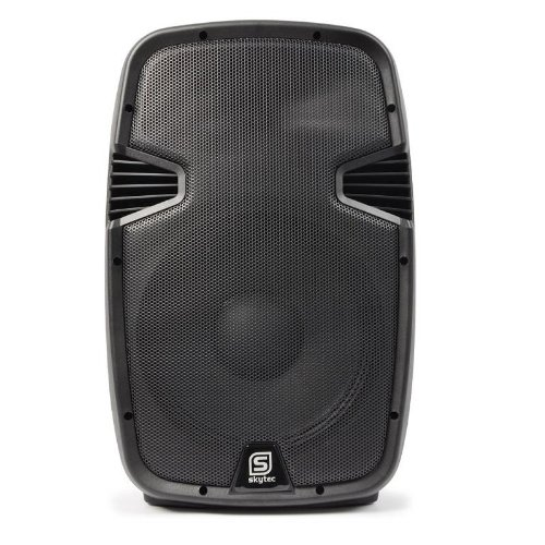 Skytec SPJ1200ABT Sonido profesional Altavoz autoamplificado DJ + mand