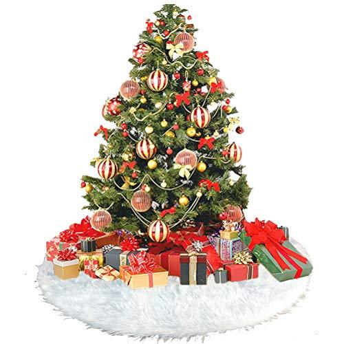 Weihnachtsbaum Rock Schürzen Weihnachtsbaumdecke Weihnachtsbaum Bodendekoration Weihnachten Party Dekoration -