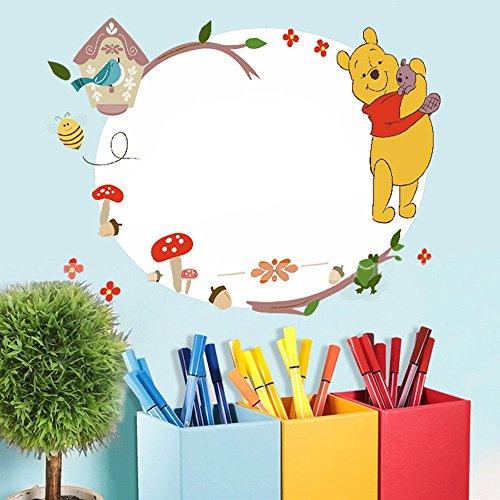 (Smart Art Disney Winnie the Pooh Whiteboard Aufkleber Klassisch Bär Wandaufkleber Beste Zuhause Wandsticker Wandtattoos Hintergrundbilder Wanddekorationen zum Baby Kinder)