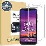EasyULT Panzerglas Für Motorola One[2 Stück], Bildschirmschutzfolie Bildschirmschutz Glas Folie Panzerglasfolie Schutzfolie für Motorola One(3D Touch Kompatibel)