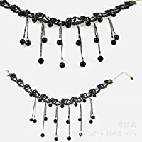 Collana SUNZHENLace gioielli semplice cordone collana vintage della
