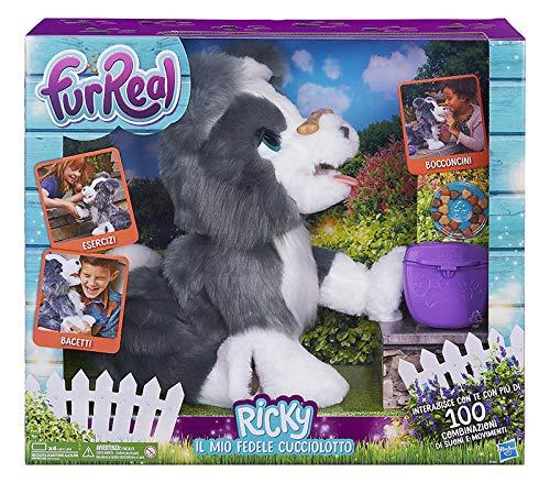 Hasbro FurReal FurReal–Ricky, Il Mio Fedele cucciolotto, Multicolor, e0384103