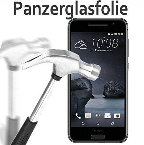 tomaxx Glas für HTC One A9 Glasfolie Hartglas 9H Panzerglas Panzerglasfolie