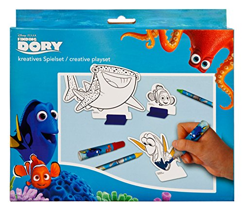 Undercover FDCW8126 - Trolley Disney Pixar Findet Dorie, ca. 36 x 25 x 10 cm Kreatives Spielset