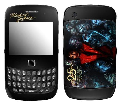 MusicSkins MS-MJ30211, Michael Jackson - Thriller 25, BlackBerry Curve 3G (9300/9330), Skin