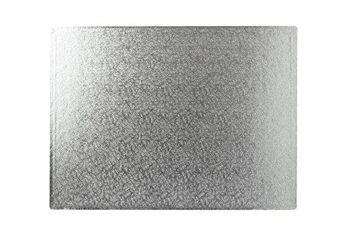 35,6 x 25,4 cm carré argent gâteau planches 12 mm d'épaisseur