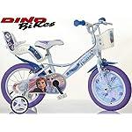 51qKbdGuNDL. SS150 Cicli Puzone Bici 14 Frozen Dino Bikes Art. 144 R-FZ3 Modello Nuovo