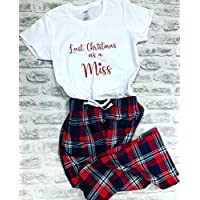 Last Christmas As A Miss Personalised Pyjamas Set For Women