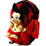 Blue Tree Soft Material School Bag For Kids Plush Backpack Cartoon Toy | Children's Gifts Boy/Girl/Baby/ Decor School Bag For Kids(Age 2 To 6 Year) (Micky 1)