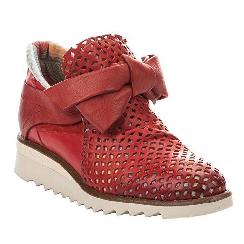 Baskets mode femme - DKODE - Rouge - RAISA - Millim Rouge