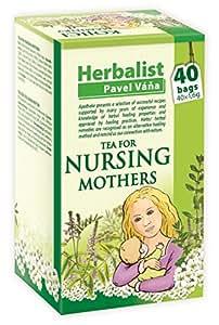 Herbal nursing tea for breastfeeding mothers stimulating mother's milk 40 tea bags by Apotheke Pavel Vana