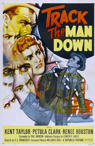 Track the Man Down Plakat Movie Poster (11 x 17 Inches - 28cm x 44cm) (1955)