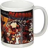 Deadpool Cómic insufferable Taza de cerámica, multicolor