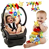 Pixnor Baby Spiral Activity Hanging Toys Stroller toys Cart Seat Pram Toy with Ringing Bell - Pixnor - amazon.co.uk