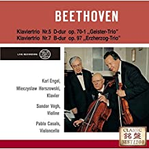 Pablo Casals - Beethoven: Piano Trios No.5 Ghost & No.7 Archduke [Japan CD] UCCD-7341