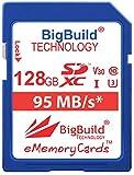 BigBuild Technology UHS-I U3 - Tarjeta de Memoria para cámara Sony Cyber Shot DSC H300, HX350, ILCE 7S, RX10, Sony ILCE-5100, ILCE-7KB.CE, ILCE-7M2B, ILCE-7S/BQ Alpha 7S, ILCE-5100LB.CEC