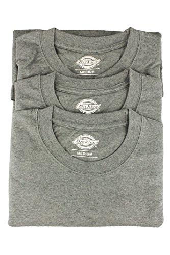 Dickies 06 210091 da uomo a maniche corte Crew Neck T Shirt confezione, colore: grigio Melange Grigio grigio
