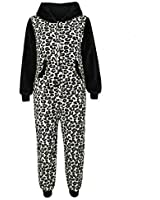 Unisex Kids Soft Fluffly Animal Onesies Monkey Gorilla Leopard Skull Camouflage Costume 2-13 Years