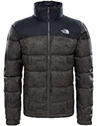 North Face M NUPTSE 2 JACKET - Chaqueta , Hombre , Multicolor - (BLACKINKGRNTOILEDEJOUYPRT)