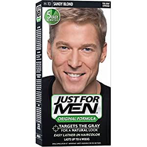 Just For Men Hair Color Shampoo, Sandy Blond, 1 ct