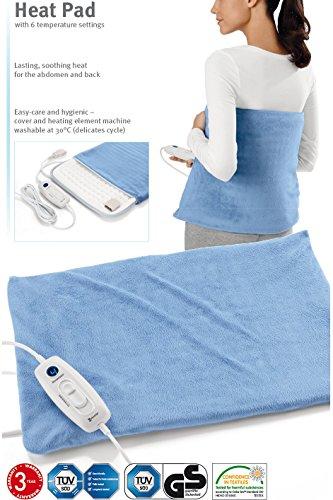 Elektrische Heizkissen Temperaturbereich 36-75 ℃ Heizkissen zum Aufwärmen des Körpers & zur Beruhigung Nacken Schultern Rückenschmerzen