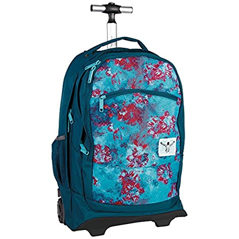 Chiemsee Sac de voyage Wheely OSO Multicolore - Dusty Flowers
